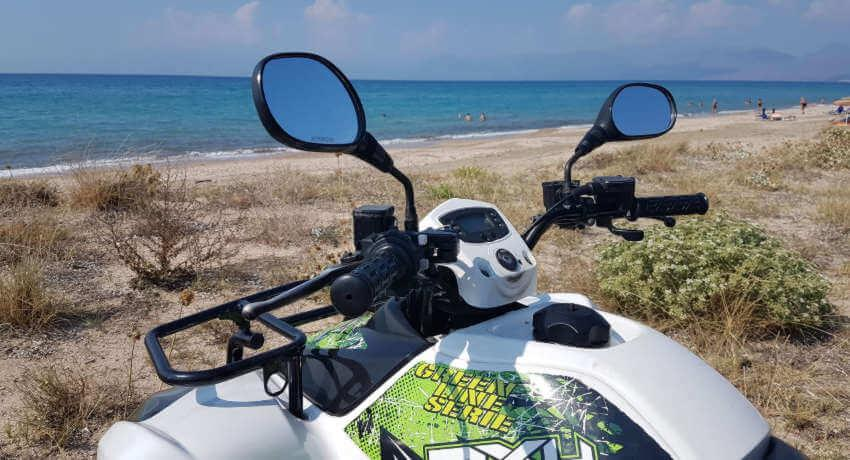 Hire quads/ATVs in Corfu - Sunriders Motorbikes