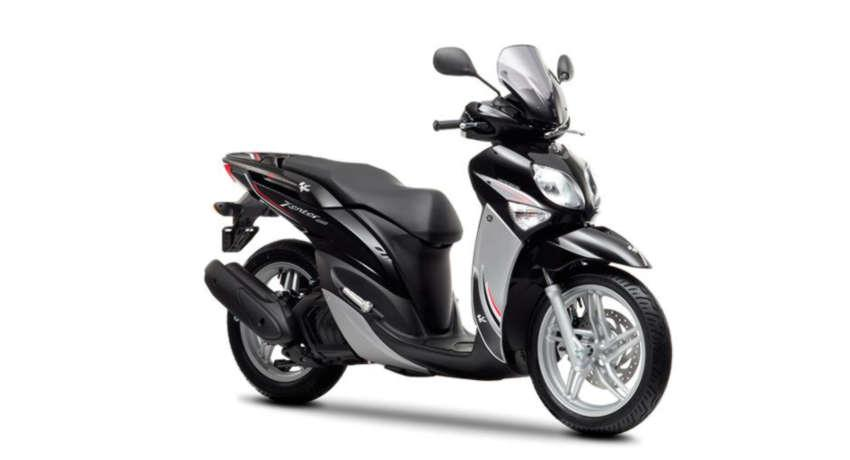 Corfu moped rentals - Yamaha Xenter 125cc - Sunriders